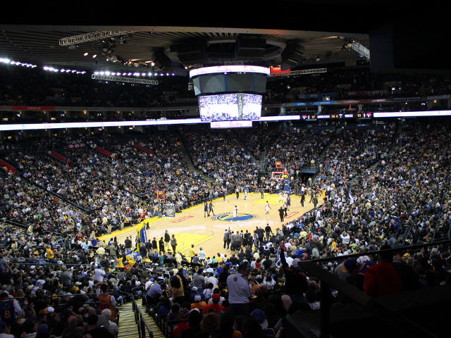 Golden State Warriors Lower Seats
