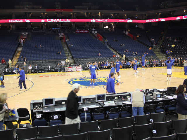 Golden State Warriors Section 101