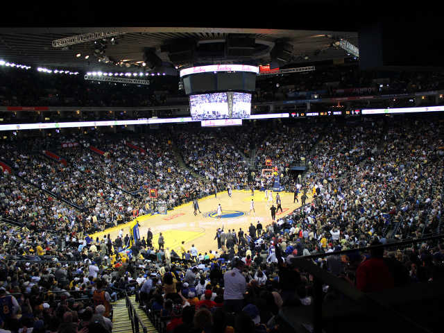 Golden State Warriors Section 104