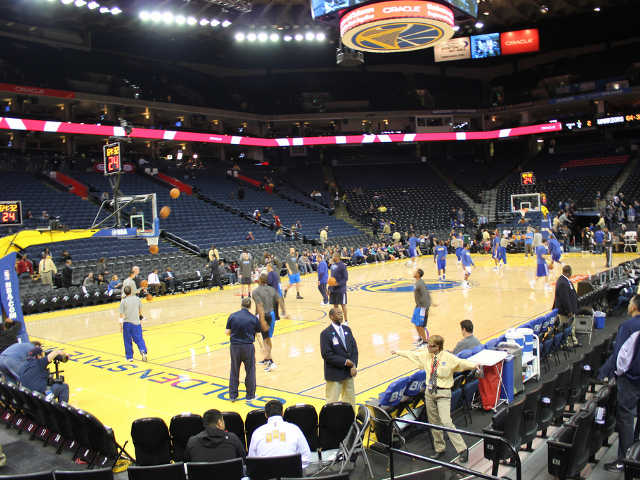 Golden State Warriors Section 105