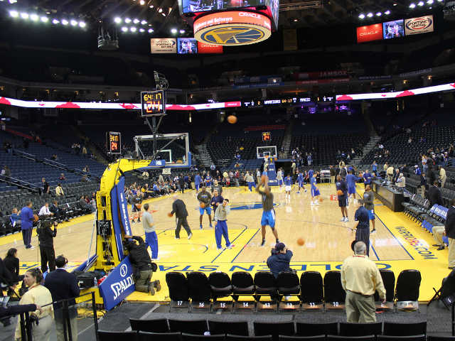 Golden State Warriors Section 106