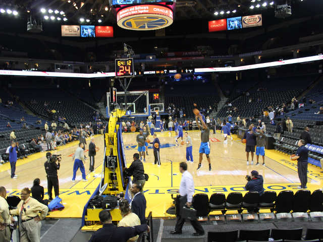 Golden State Warriors Section 107