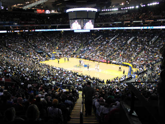 Golden State Warriors Section 109