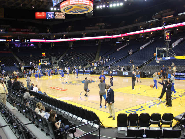 Golden State Warriors Section 110