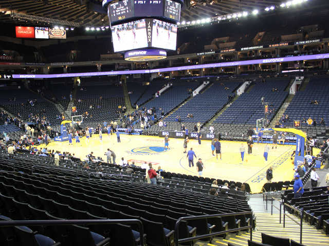 Golden State Warriors Section 112