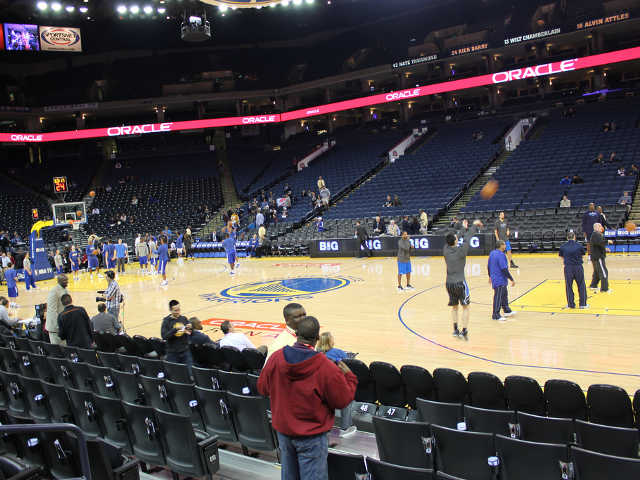 Golden State Warriors Section 113