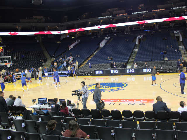 Golden State Warriors Section 114