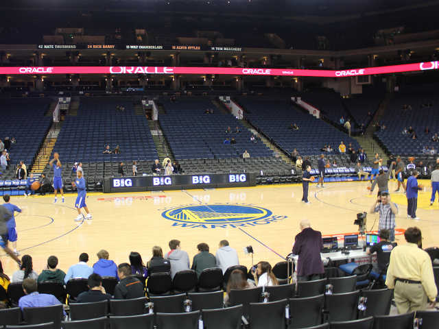 Golden State Warriors Section 115