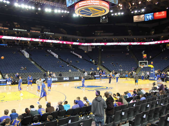 Golden State Warriors Section 116