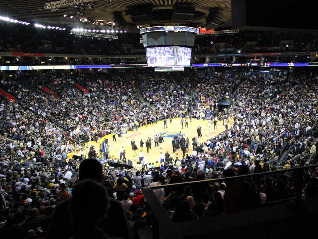 Golden State Warriors Section 117