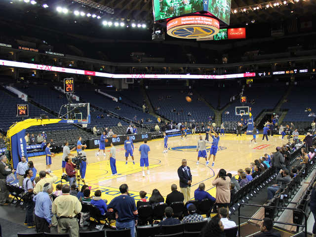 Golden State Warriors Section 119