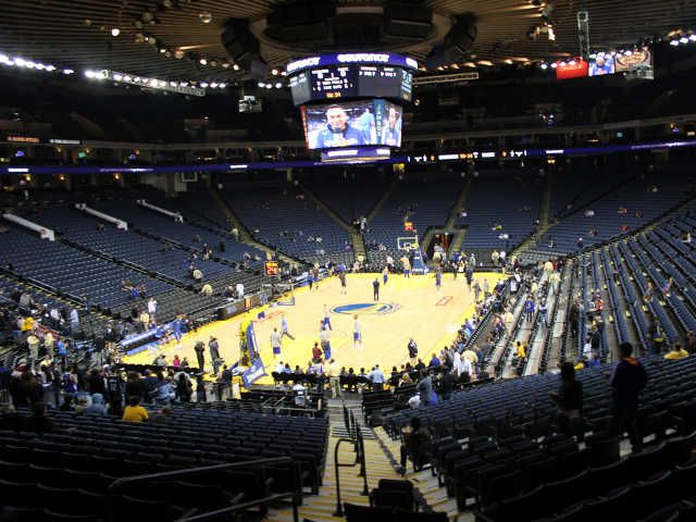 Golden State Warriors Section 120