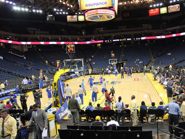 Golden State Warriors Section 121