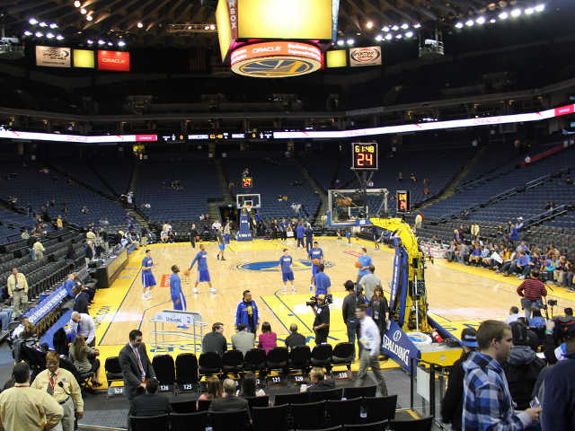 Golden State Warriors Section 122