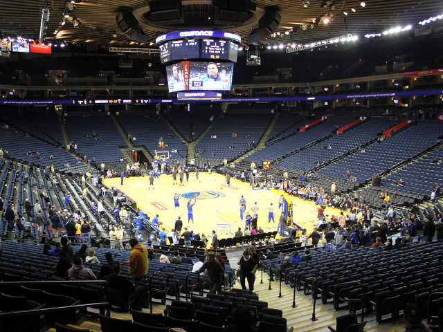 Golden State Warriors Section 123