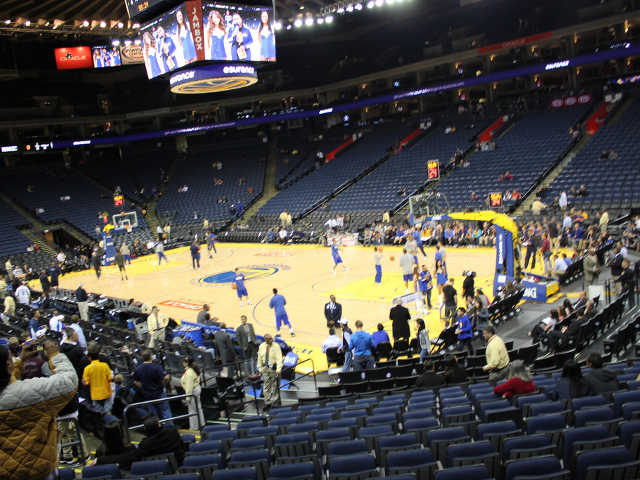 Golden State Warriors Section 125