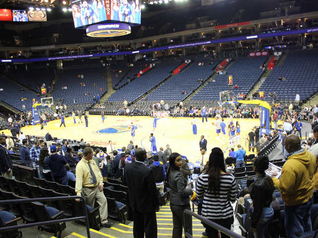 Golden State Warriors Section 126