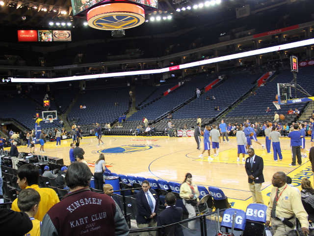 Golden State Warriors Section 127