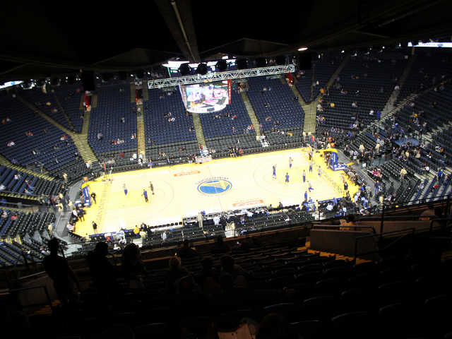 Golden State Warriors Section 201