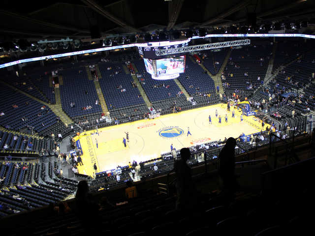 Golden State Warriors Section 202
