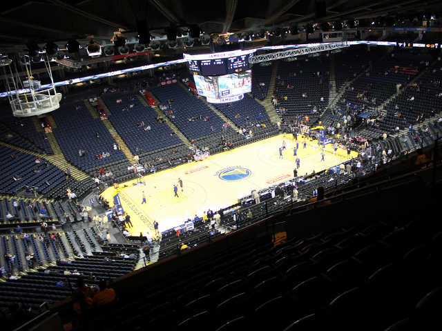Golden State Warriors Section 203