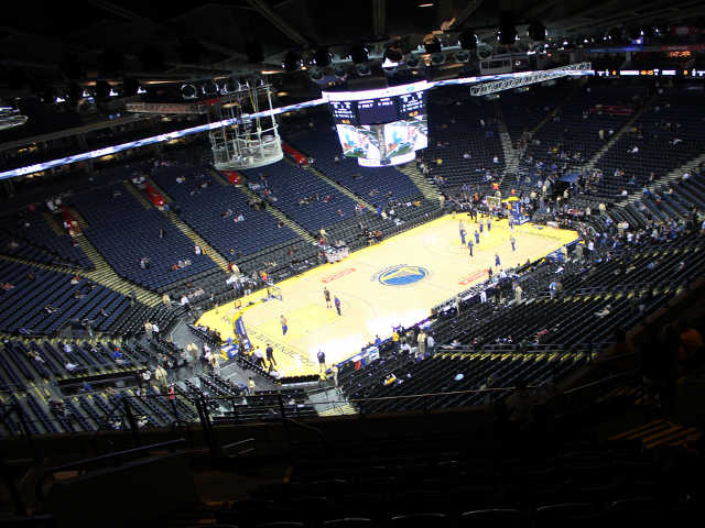Golden State Warriors Section 204