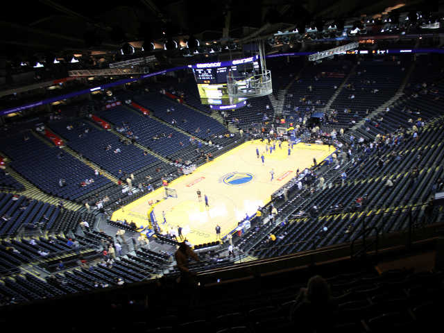 Golden State Warriors Section 205
