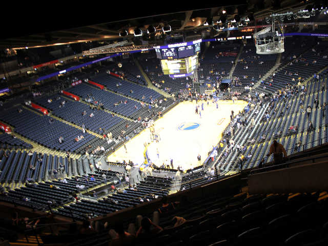 Golden State Warriors Section 206