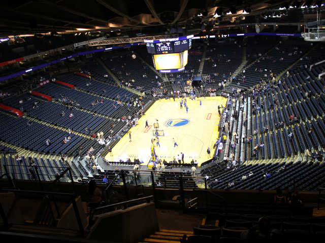 Golden State Warriors Section 207