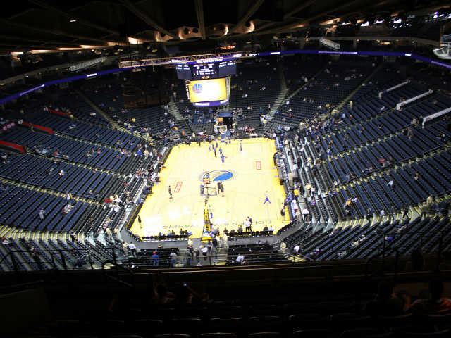 Golden State Warriors Section 208