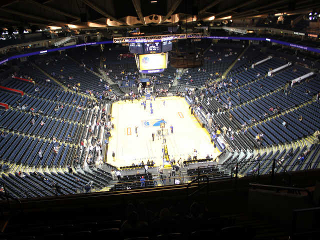 Golden State Warriors Section 209