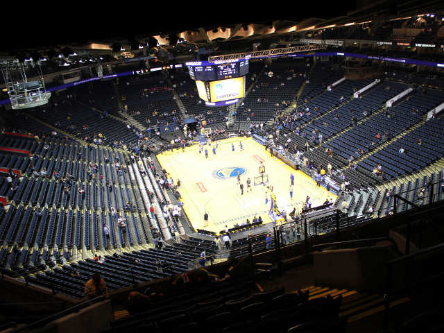 Golden State Warriors Section 210