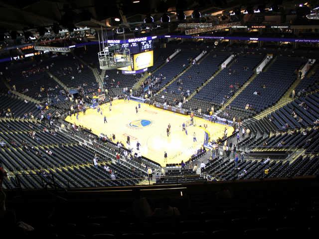 Golden State Warriors Section 212