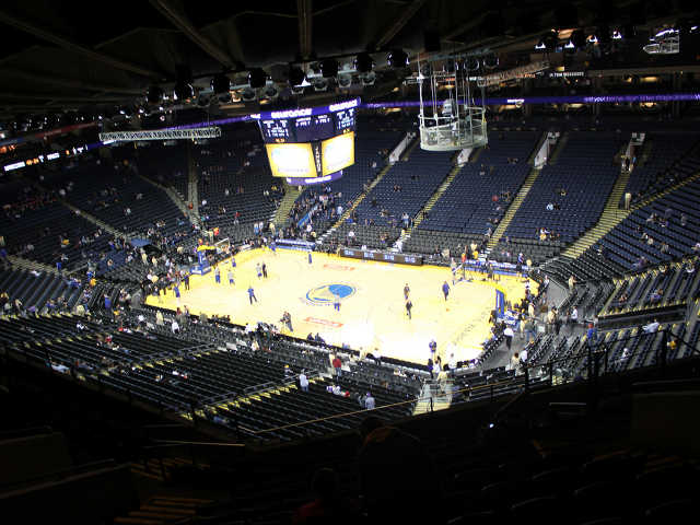 Golden State Warriors Section 213
