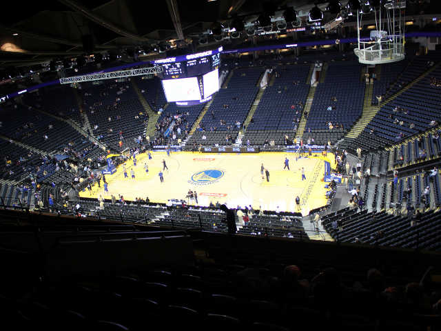 Golden State Warriors Section 214