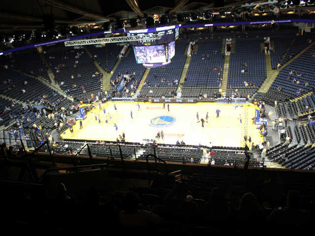 Golden State Warriors Section 215