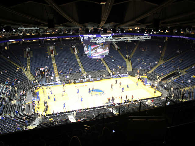 Golden State Warriors Section 218