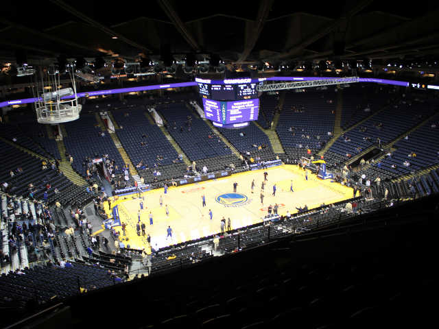 Golden State Warriors Section 219