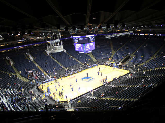 Golden State Warriors Section 220