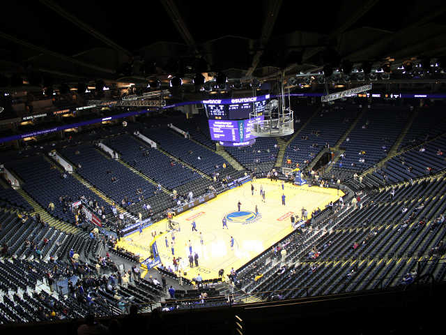 Golden State Warriors Section 221