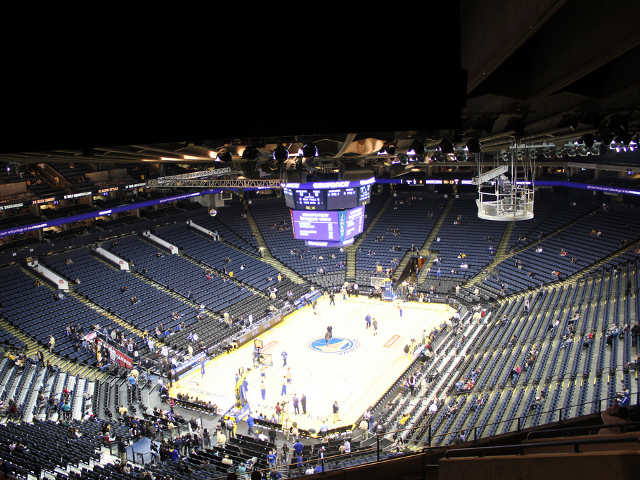 Golden State Warriors Section 222