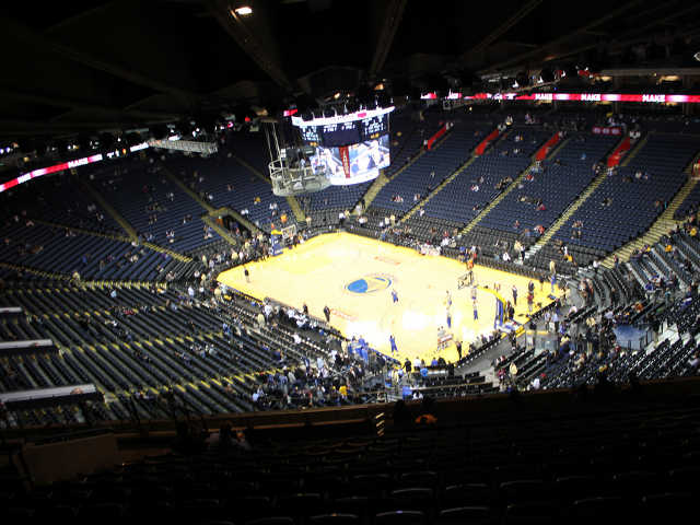 Golden State Warriors Section 227