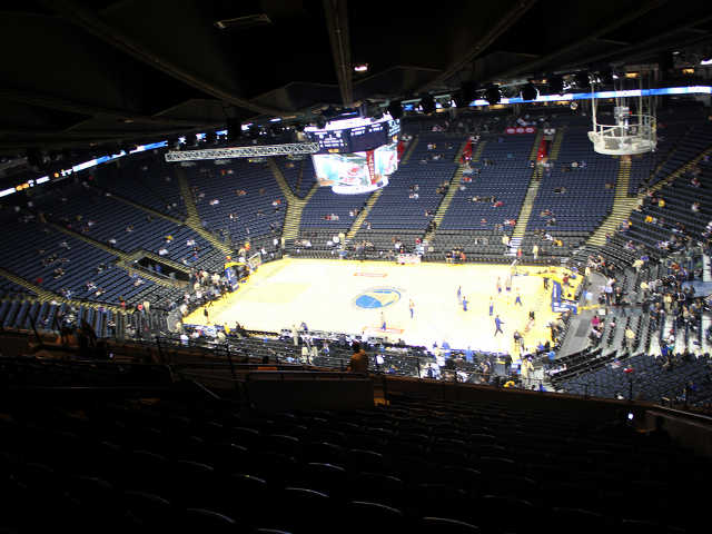 Golden State Warriors Section 229
